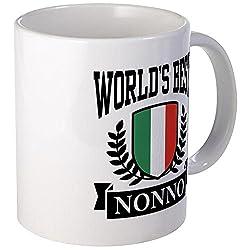 CafePress World's Best Nonno Mug Unique Coffee Mug, Coffee Cup