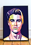 Justin Limited Poster Artwork - Professional Wall Art Merchandise (More Sizes Available) (8x10)