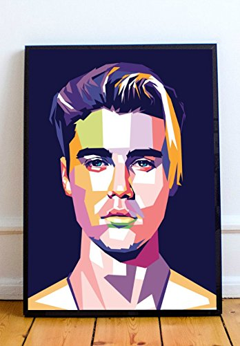 Justin Bieber Limited Poster Artwork - Professional Wall Art Merchandise (More (8x10)
