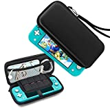 YoWin Carrying Case for Nintendo Switch Lite, [Hard Shell] Portable Travel Carry Case Protection Case with Storage for Switch Lite Console & Accessories (Black)