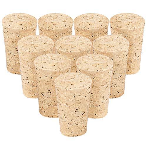 Bastelkorken Karton - Flaschenkorken als Weinkorken, Bastelkorken, Weinkorken, zum Dekorieren, Basteln - Natur Flaschenkorken als Bastelzubehör für Kids, 22 × 17 × 35 mm Größe