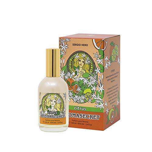 AROMASECRET Perfume de mujer 100 ml – CONCEPTO Nuevo de Perfumería, La mejor idea de un regalo para Ella (CITRUS)