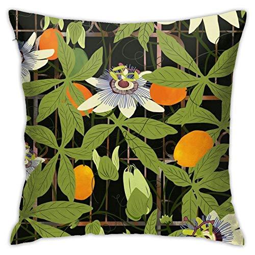 pingshang Passioowers - Funda de almohada moderna para sofá, cama, silla, coche, 45,7 x 45,7 cm