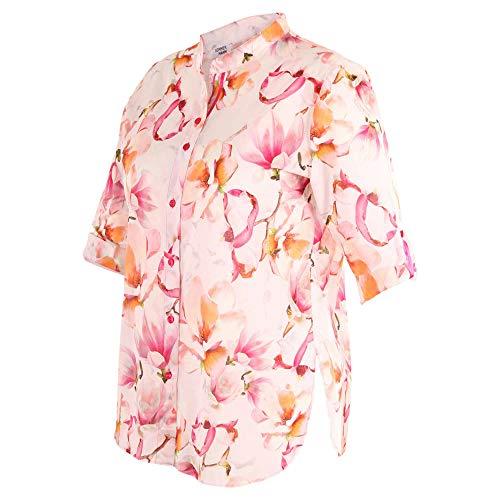 Zomerman - roze blouse met bloemenpatroon