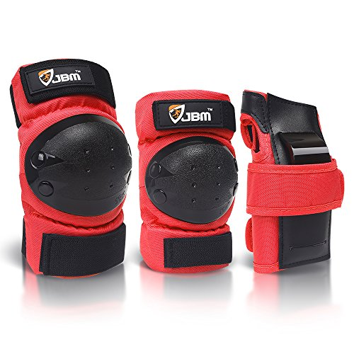 Product Image of the JBM international Adult / Child Knee Pads Elbow Pads Wrist Guards 3 In 1...