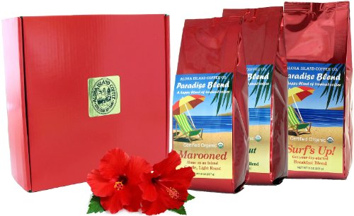 Gift Boxed, Organic Coffee of the Month Club, Rain Forest Alliance Fair Trade Coffee, Shipped Monthly for Six Months, First Shipment Is Gift Boxed, Best Gift for Organic coffee Lovers, All Occasions