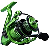 YONGZHI Fishing Reels,13+1BB Light Weight and Ultra Smooth Powerful Spinning Reels for Saltwater and Freshwater Fishing-2000G