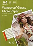 Great Quality Photo Glossy White Paper A4 100 Sheets...