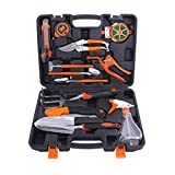 XHLLX Giardino Tool Kit, Hi-Spec 12Pc Casa E Garage Tool Kit Withgarden Erba Forbici, Spray Bottiglia, per Garden Greening Strumenti, Strumenti A Mano Set