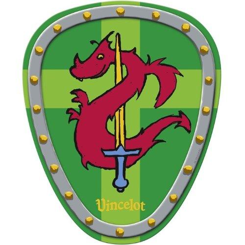 Vincelot Knights Shield, 32 x 26 cm, modèle # 21614