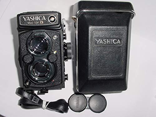 Best Bargain Yashica Mat 124 G TLR Medium Format Vintage Film Camera with 80mm Lens