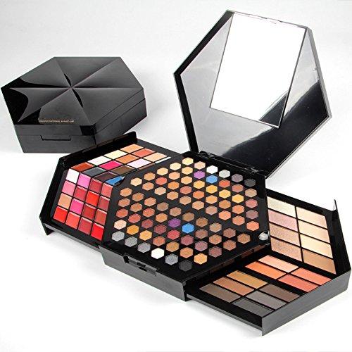 FantasyDay® Profi Lidschatten Palette Make Up Kosmetik Makeup Kit - 88 Farben Hochpigmentierte...