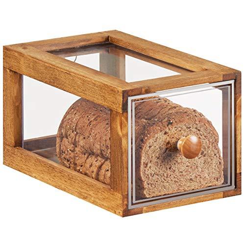 Affordable CAL-MIL 4200-1-99 Madera Single Drawer Bread Display, 7.5 x 13