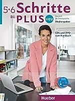 Schritte Plus neu: Medienpaket B1 3 CDs und 1 DVD zum Kursbuch
