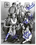 Waltons Cast Photo Signed/Autographed by Eric Scott, Judy Norton, Michael Learned, Mary Elizabeth McDonough, David W. Harper, Kami Cotler