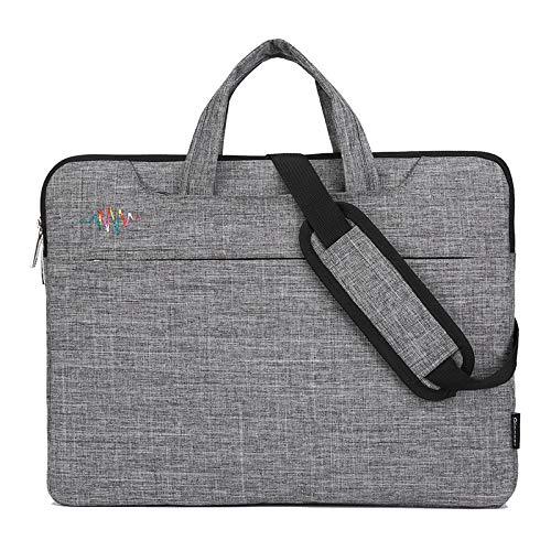 17 inch Laptop Case Multi Function Waterproof Scratch Resistant Computer case Portable Adjustable Shoulder Strap and Adjustable Handle Briefcase Black 17 inch 18.4 inch 21 inch