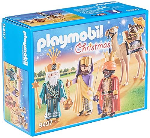 Playmobil- Reyes Magos Juguete, Multicolor, tu (Geobra Brandstätter 9