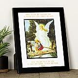 Guardian Angel Prayer and Image Framed Print