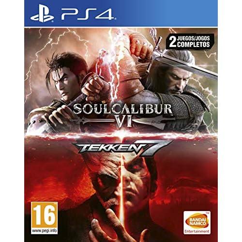 Pack: Tekken 7 + SoulCalibur VI a buen precio