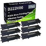 Paquete de 6 cartuchos de impresora compatibles con Lexmark B222H00 de alto rendimiento para impresoras Lexmark B2236DW, MB2236ADW, MB2236ADWE