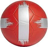 qzpyy Ballon de Football Taille 5 Thermal Bonded Professional Club Team Ballon d'entraînement de Football pour Match intérieur et extérieur pour Adultes Enfants garçons Filles-Rouge_4