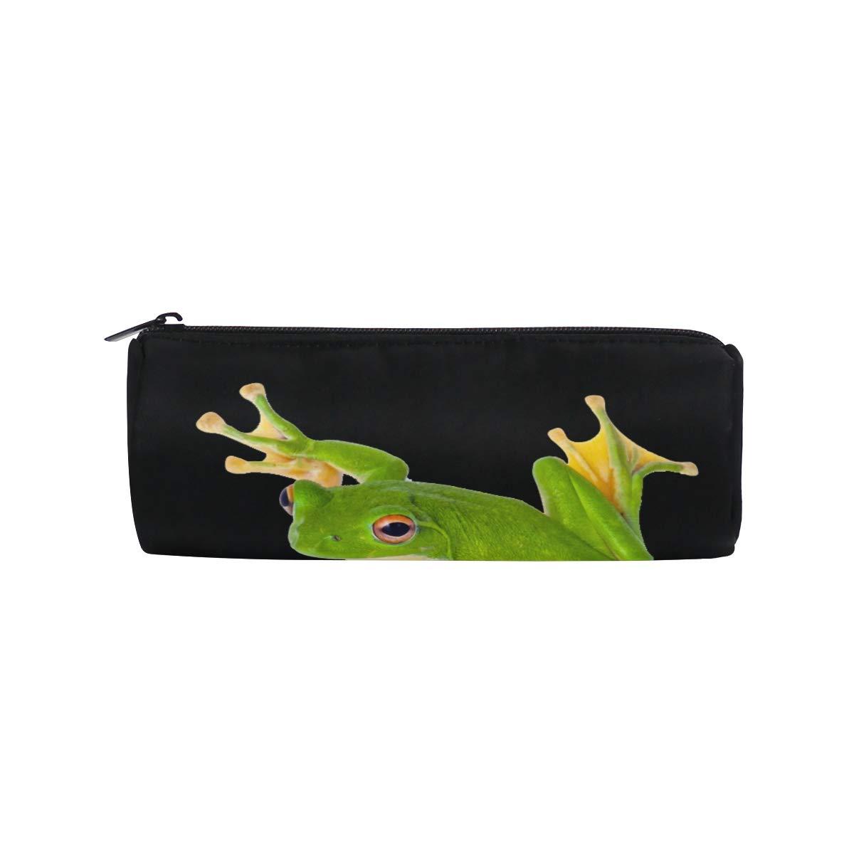 Bolso para bolígrafo Lindo y hermoso Funda de rana arbórea verde Estuche para lápices Estuche para bolígrafo Bolsa para estuche para lápices Bolsa de bolígrafos Bolso de regalo para escuela/oficina: Amazon.es: Oficina