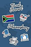 Travel Journal Johannesburg: Travel Diary | 106 pages, 6x9 inches | To accompany you during your stay