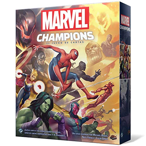 Fantasy Flight Games-Marvel Champions: El juego de cartas, color mc01es , color/modelo...