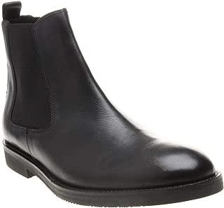 Karter Chelsea Leather Mens Boots Black