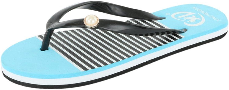 Btrada Women's Flip Flops Slippers Summer Beach Casual Soft Home Indoor Outdoor Fashion Ladies shoes
