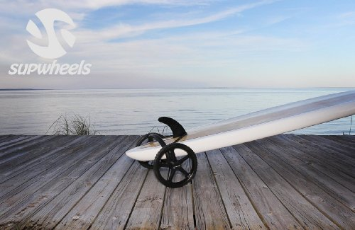 SUP Wheels Classic | Standup Paddle Board Carrier | Walking Board Transport (no Strap Handle)