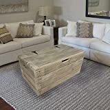 WOODEN <span class='highlight'>STORAGE</span> CHEST COFFEE TABLE [ FLASH <span class='highlight'>SALE</span> TODAY ]- RUSTIC & HANDMADE in UK - Trunk, Blanket Box, Ottoman, Bench Seat.