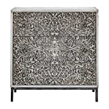 Vhomes Marina Carved Accent Chest