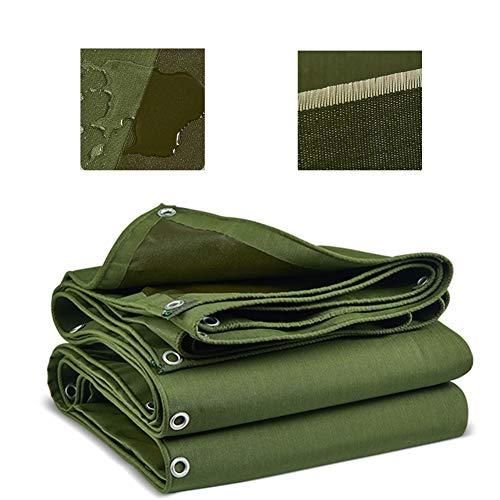 Abdeckplanen Grün Leinwand Persenning, Multi-Purpose Tarp Wasserdicht Verdicken Verschleißschutz - Schützen Sie Ihr Zelt, Pritschen, Brennholz Oder Dach (Size : 3x2m)
