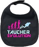EZYshirt® Taucher Evolution Baby Lätzchen Halstuch