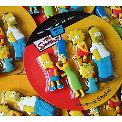 imanes de Nevera Homer Simpson dibujos animados nevera creativa imán de formación temprana decoración...