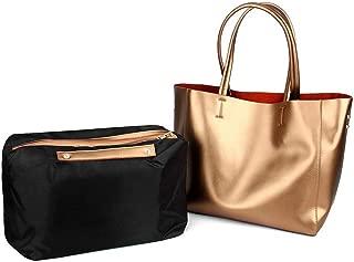 Fashion Ladies Leather Bag/Fashion Pearl Leather Cow Shoulder/Shoulder Messenger Bag/Outdoor Travel Backpack (Color : Gold)
