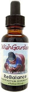 WishGarden Herbs - ReBalance Postpartum Hormonal, Supports Healthy Hormone Levels (4 oz)