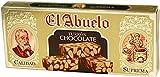 Turrón de Chocolate con Almendras El Abuelo, 300 gramos