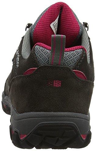 Karrimor Women's Bodmin 5 Ladies Weathertite Low Rise Hiking Boots, Grey Dark Grey, 7 UK