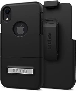 苹果 iPhone XR Seidio 表面组合支架(黑色/黑色)