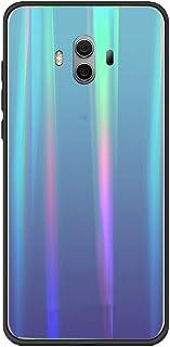 Caler Protección Brillante Funda Compatible con Xiaomi mi 5S Plus Cubierta De Trasera de Vidrio Templado Premium Suave Gel...
