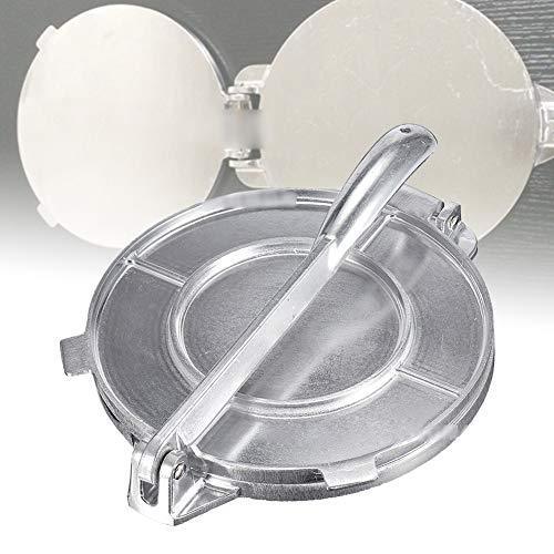 20,3 cm Tortilla-Presse, Aluminium Tortilla Maker mit faltbarem Griff, antihaftbeschichtete Tortilla-Presse für hausgemachte Tortillas oder Tacos, Kuchen Frühstück