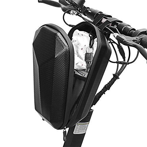 WAROOM - Bolsa de patinete eléctrico impermeable para patinete eléctrico, tubo delantero, bolsa de almacenamiento para patinete eléctrico, gran capacidad, protección carcasa dura