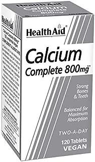 HealthAid Calcium Complete 800mg - 120 Vegan Tablets