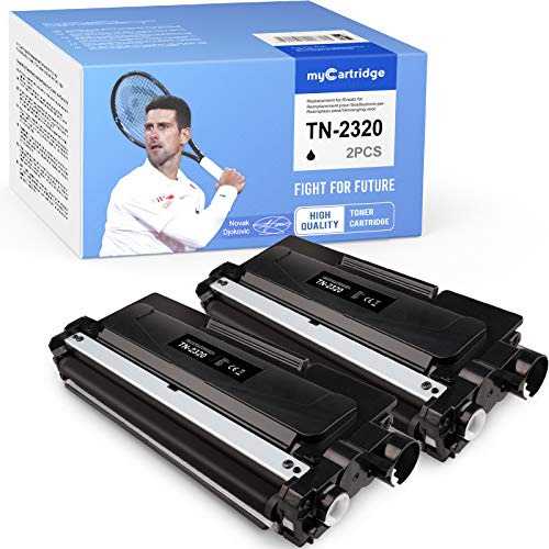 MyCartridge kompatibel für Brother TN-2320 TN-2310 TN2320 Toner für Brother MFC-L2700DW MFC-L2700DN DCP-L2520DW HL-L2300D HL-L2340DW HL-L2365DW DCP-L2500D DCP-L2540DN DCP-L2560DW (2*Schwarz)