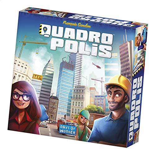 Quadropolis NL/FR - Strategisch spel - Breidt jouw stad uit - Voor de hele Familie - Taal: Nederlands