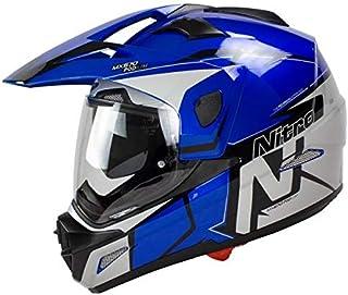 56 Helmet Nitro N2300 Pioneer Black//Blue//Yellow//white S