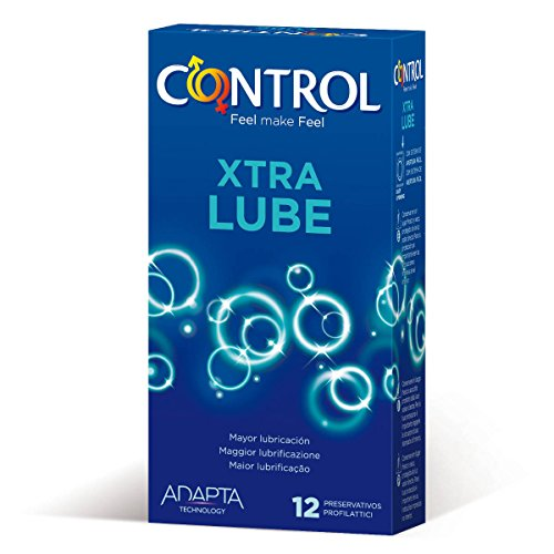 Control Preservativos Extra Lube x12