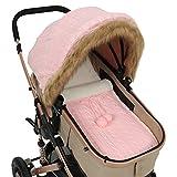 Tabpole Baby-Kinderwagen-Bezug, Schlafsack-Set für Neugeborene, Baby-Kindersitz, Baldachin, Buggy, Wickeltuch für Mädchen und Jungen